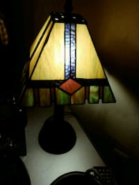 Older lamp. Price is firm. Little over a foot tall Tampa, 33614