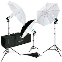 3-Point Photography Starter Lighting Kit / BRAND NEW / GTAPhotoStudio . com Toronto