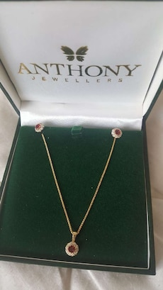 gold Anthony Jewellers pendant necklace
