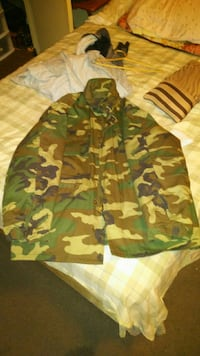 Army fatigue coat