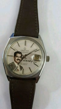 Like New Authentic Certina Saddam Auto Mens Watch Toronto, M4C 1M7