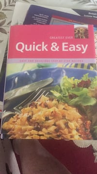 Quick and easy cookbook. Free with any purchase  Vaughan, L4K 0B6