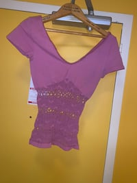 PINK CUT OUT TUMMY TOP Toronto, M6P 2T3