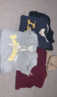 American eagle and Hollister hoodies size small Surrey, V3S 7H6