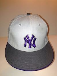 New York Yankees 59Fifty Flat Brim Size 7 1/4 London
