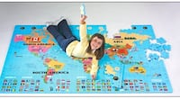Lee Valley Foam World Map Puzzle   Calgary, T3A 6C7