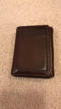 Coach mens leather wallet  Richmond Hill, L4S 0V4