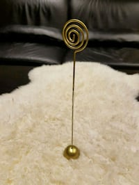 Gold Table Number Holder Brampton