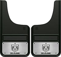 2017 Dodge 1500 mudflaps Brand New Kamloops, V2C