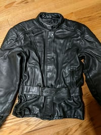 Leather riding gear