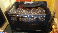 baby's black and red Graco pack n play Columbus, 43204