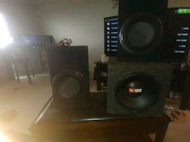 Car or truck 1000 watt speakers