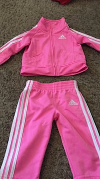pink and white Nike track pants Gary, 46403