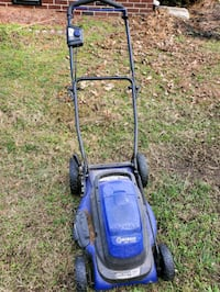 Kobalt cordless, push button lawn mower Norfolk