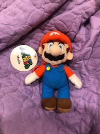 Super Mario Plush Coin Purse With Tag Boston, 02114
