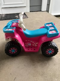 Toddler's pink and blue ride on atv Fall River