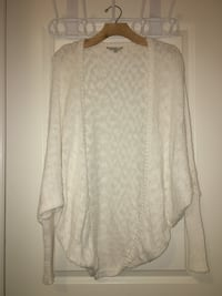 White GUESS cocoon cardigan size XS/S Guelph, N1G 0E3