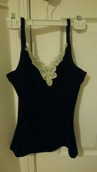 women's black sleeveless top Calgary, T3K 6C7