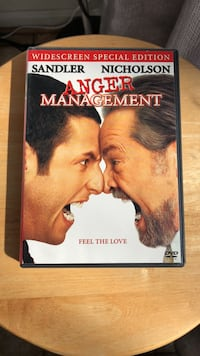 Anger Management DVD Movie Laurel
