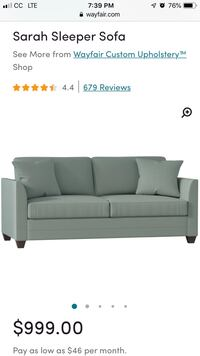 Sleeper Sofa Fairfax, 22031