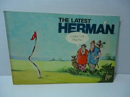 The Latest Herman Comic Strip Collection Book
