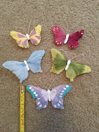 Small butterfly decorations for wall 217 mi