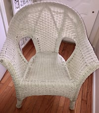 White Whicker Chair Crofton, 21114