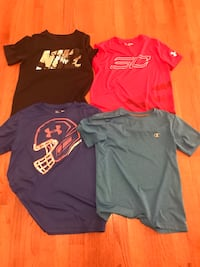 Nike, Under Armour, and Champion youth medium shirts  Falling Waters, 25419