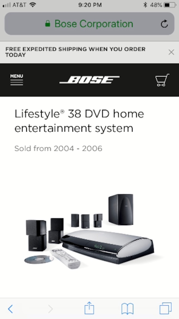 Bose Sound System >> Bose Surround Sound System