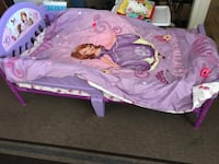 purple and pink Minnie Mouse bed Salinas, 93906