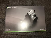 XBOX ONE X & Forza Motorsport Game (unopened)