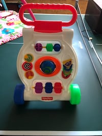 toddler's Fisher Price learning activity walker