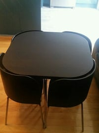 Ikea Dining table and 4 chairs Milton, L9T