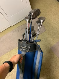 Set of golf clubs & bag with some Springfield, 22151