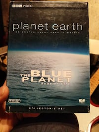 BBC Video Planet Earth the Blue Planet seas of life DVD case