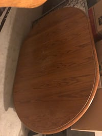 Oak Kitchen Table with 4 Chairs