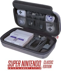 Super Nintendo SNES Classic Edition Carrying Case
