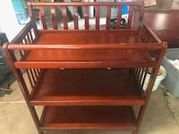 Wooden changing table Lafayette