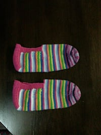 Hand knitted house socks /shoe