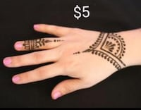 Henna starting at $5/hand Millwoods Edmonton, T6K