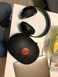 black Beats by Dr Dre headphones with box