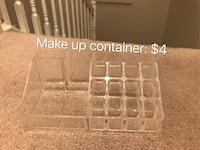 clear plastic make up container 22 km