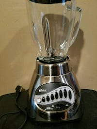 silver Oster blender Sterling Heights, 48313