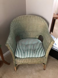 Wicker Chair Markham, L3P 5X7