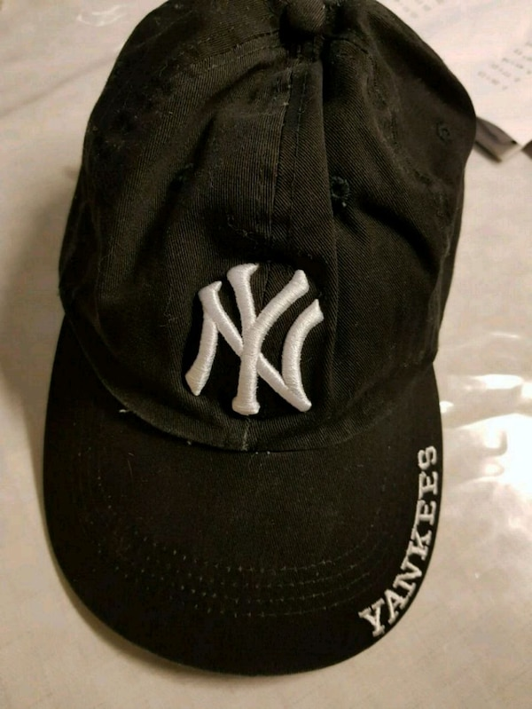svartvitt New York Yankees cap