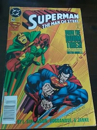 DC Superman The Man of Steel comic Killeen