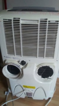 white window-type air conditioner Edmonton, T5K