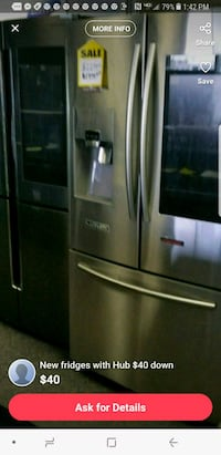 stainless steel french door refrigerator St. Louis