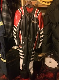 Black and red full-zip jacket Edmonton, T6C 2Y5