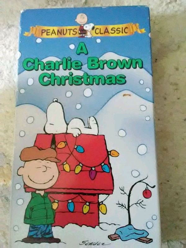 A Charlie Brown Christmas Vhs.A Charlie Brown Christmas Vhs